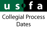 USFA Events - Collegial Process Dates